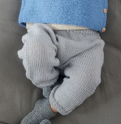 Breipatroon Baby broek