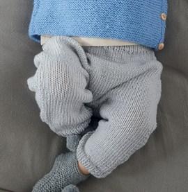 Breipatroon babybroekje, gemaakt van ....