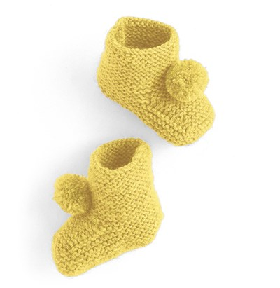 Breipatroon Baby slofjes