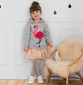 Meisjestrui met flamingo