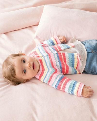 Haakpatroon Baby vest