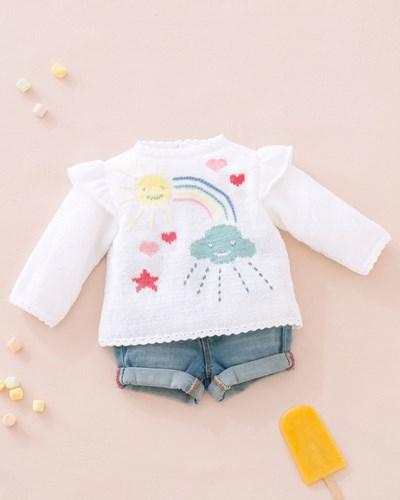 Haakpatroon Baby trui
