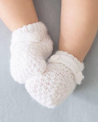 Breipatroon Baby sokjes