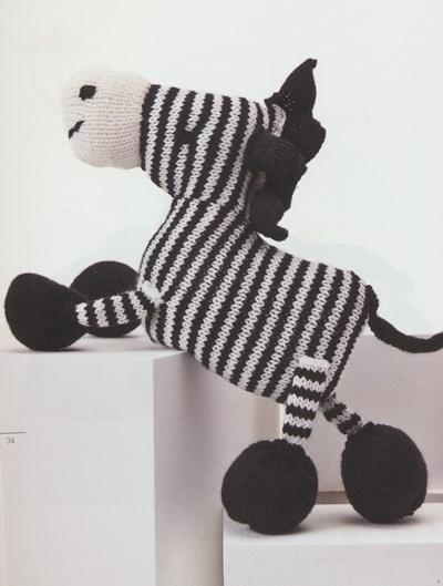 Breipatroon Zebra