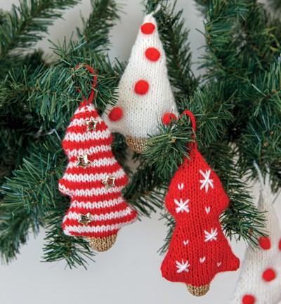 Breipatroon Kerstboom versiering
