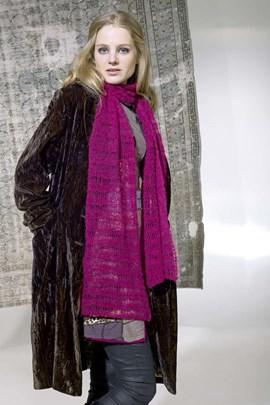 Breipatroon sjaal, deze sjaal is ....