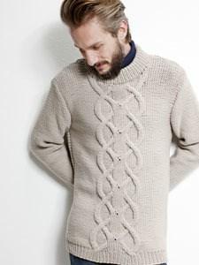 Breipatroon Heren trui