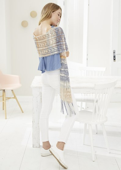 Haakpatroon Dames sjaal