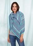 Haakpatroon Dames Sjaal van andere kant