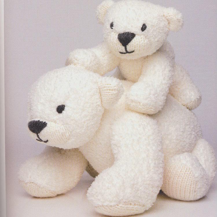 Breipatroon Moeder ijsbeer en kind