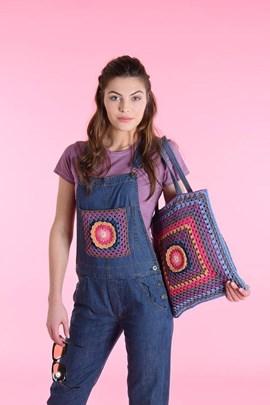 Haakpatroon tas, gemaakt van ....