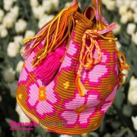 Haakpatroon rugzak in Wayuu Mochila ....