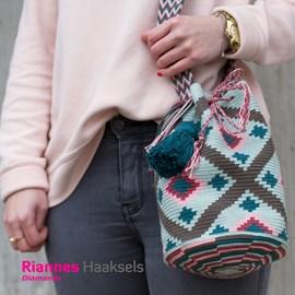 Haakpatroon mochila tas, gemaakt van ....