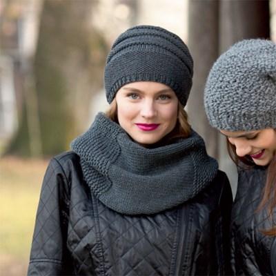 Breipatroon Ronde sjaal en muts