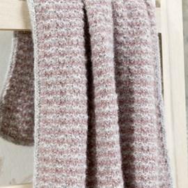 lang Yarns Breipatroon babydeken, gemaakt van Lang Yarns Malou Light.  Formaat; 72x120