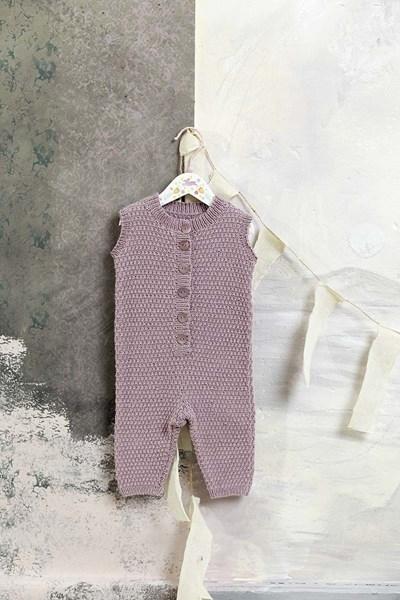 Breipatroon Onesie voor baby