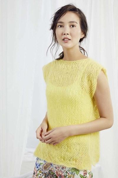 Breipatroon Mouwloze trui