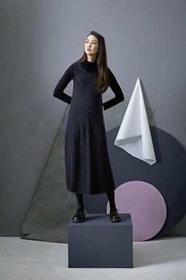 Breipatroon jurk, gemaakt van Lang ....
