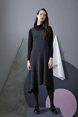 Breipatroon jurk zonder mouwen, gemaakt ....