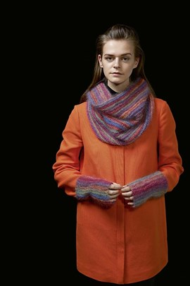Loop sjaal en polswarmers