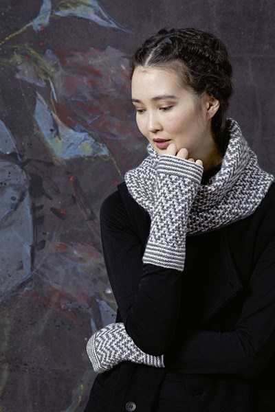 Breipatroon Loop sjaal