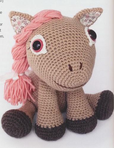 Haakpatroon Leila de pony