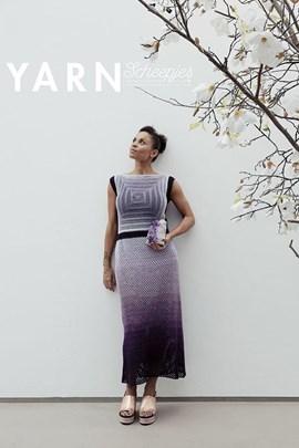 Haakpatroon lange jurk, gemaakt van ....