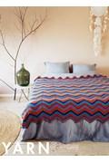 Haakpatroon zigzag deken, gemaakt van ....