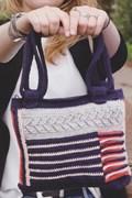 Haakpatroon handtas, gemaakt van ....