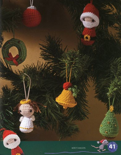 Haakpatroon Kersthangers