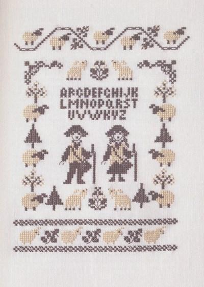 Borduurpatroon Herder