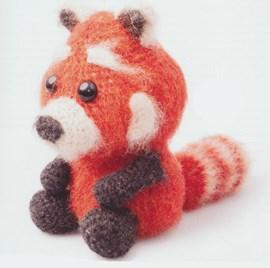 Haakpatroon Remco de rode panda, ....