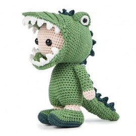 Haakpatroon Krokodil. Sjoerd heeft een ....