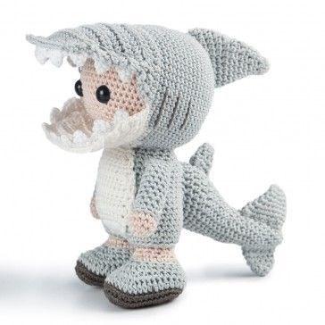 Haakpatroon Shark a Jack