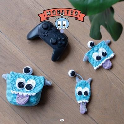 Haakpatroon Monster set