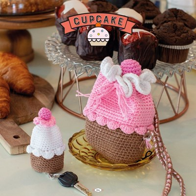 Haakpatroon Cupcake set