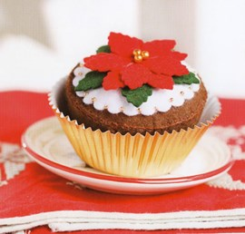 Kerstcupcake