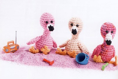 Haakpatroon Flamingo S