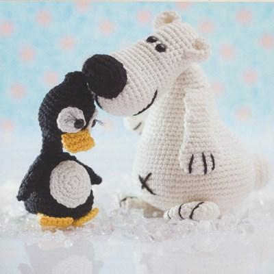 Haakpatroon Ijsbeer En Pinguin