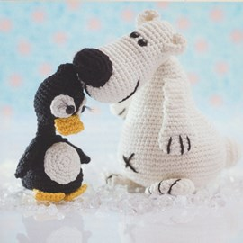 Ijsbeer en pinguin
