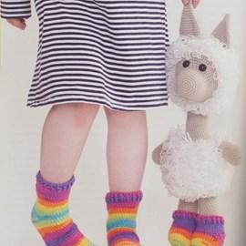 Lama en sokken