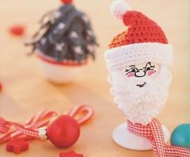 Gehaakt kerst eitje.