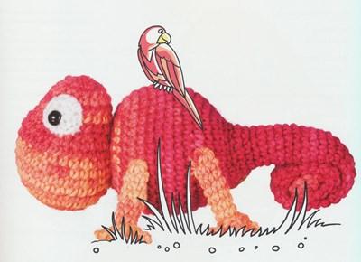 Haakpatroon Klaas Kameleon