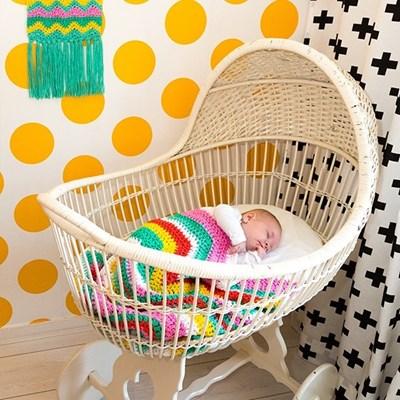 Haakpatroon Baby deken
