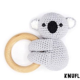 Haakpatroon rammelaar koala Kiera, ....