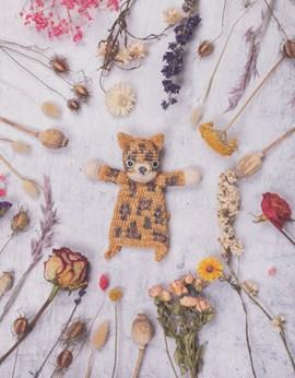 Haakpatroon platte mini luipaard is ....