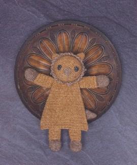 Haakpatroon platte leeuw is gemaakt van ....