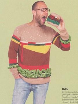 Gebreide hamburgertrui voor dames en ....