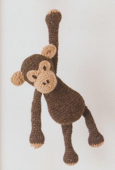 Haakpatroon Chimpansee