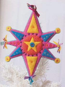 Dit is een vrolijke, stralende ster om ....